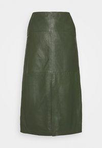 Ibana - MARIE - Áčková sukně - khaki - 0