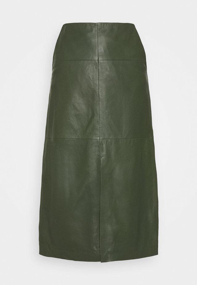 MARIE - A-line skirt - khaki