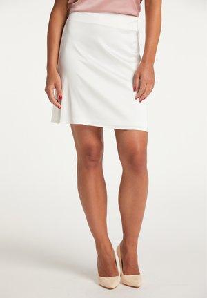 A-line skirt - weiss