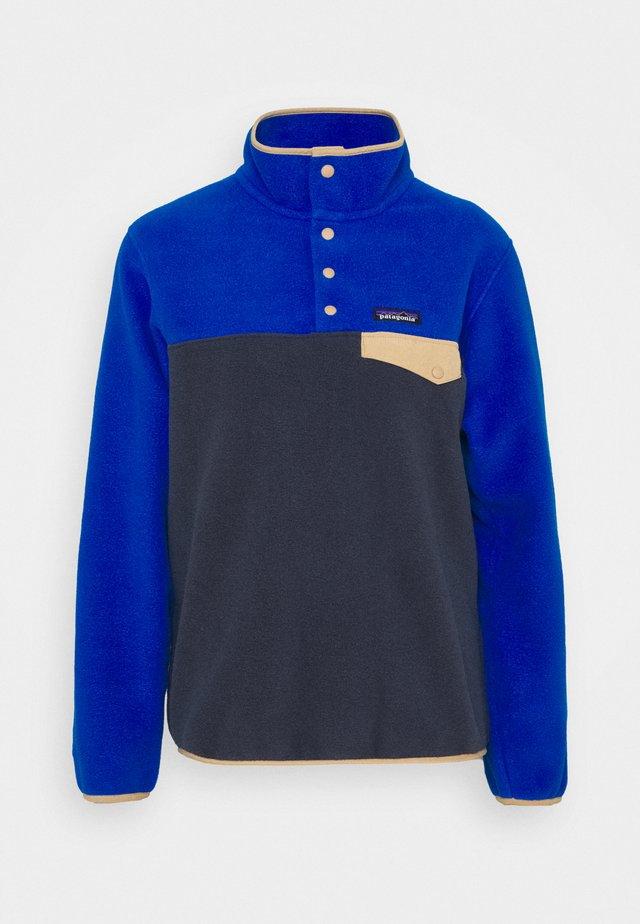 SYNCH SNAP - Fleece jumper - smolder blue/alpine blue