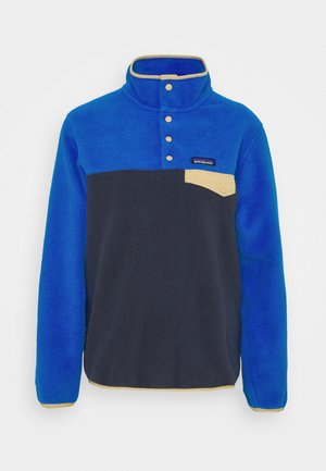 SYNCH SNAP - Fleecepullover - smolder blue/alpine blue