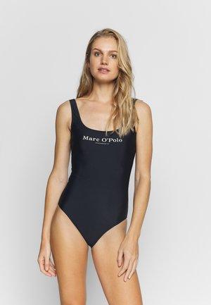 BEACHSUIT - Swimsuit - blau/schwarz