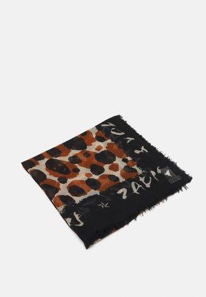DELTA LEOPARD - Šátek - noir