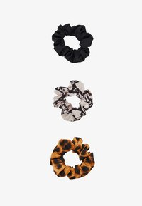 3 PACK - Hair Styling Accessory - brown/black