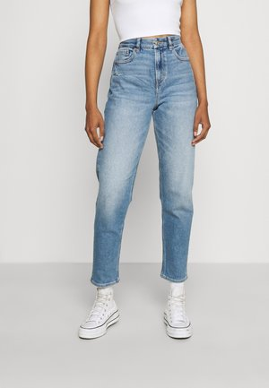 CURVY MOM - Jeans a sigaretta - blue denim