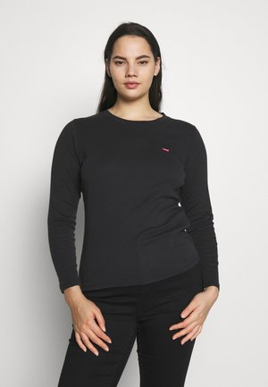 BABY TEE - Long sleeved top - black solid