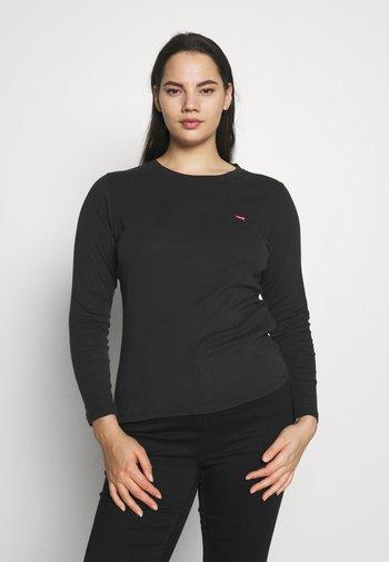 BABY TEE - Long sleeved top - black solid