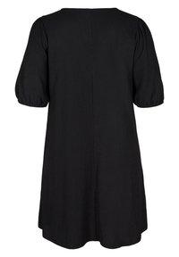 Zizzi - Jersey dress - black - 4