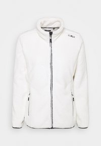 WOMAN JACKET - Giacca in pile - gesso/antracite
