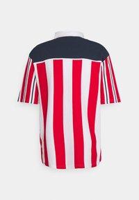 Karl Kani - RETRO BLOCK STRIPE TEE - Print T-shirt - white - 1
