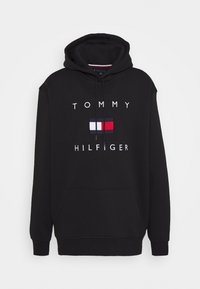 Tommy Hilfiger - FLAG HOODY - Felpa con cappuccio - black - 3