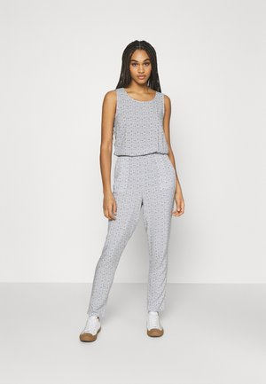 VMSIMPLY EASY  - Jumpsuit - white/dark blue
