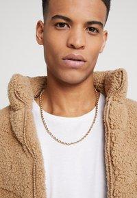 Burton Menswear London - BURTON TWIST TBAR - Necklace - gold-coloured - 1