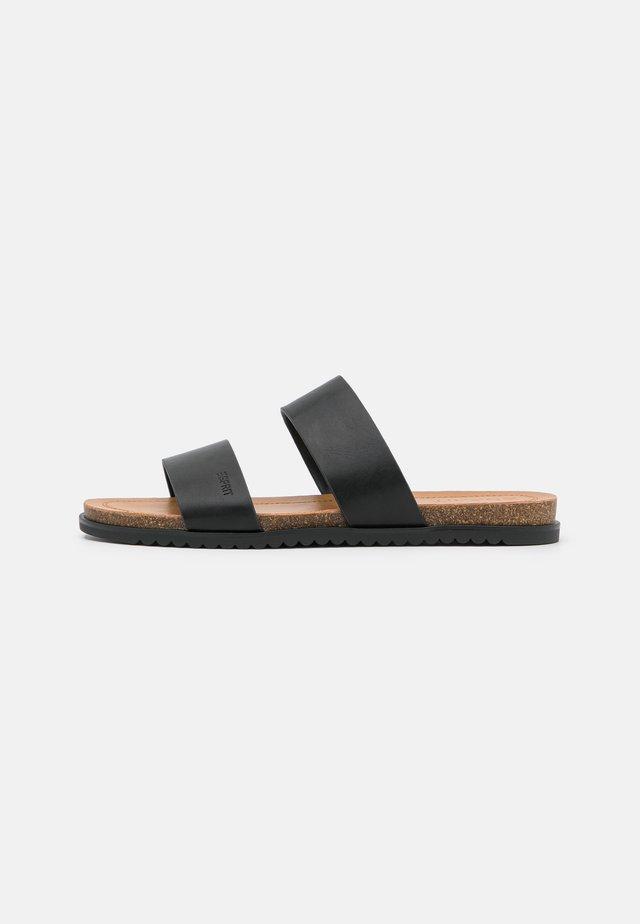 EDITH  - Pantofle - black