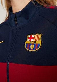 Nike Performance - FC BARCELONA - Training jacket - obsidian/noble red/university gold - 7