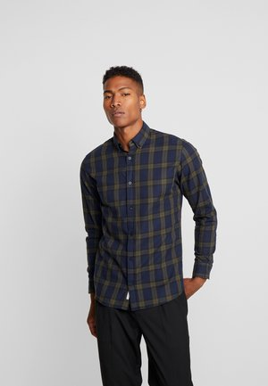 JCOMAHONE PLAIN SLIM FIT - Shirt - forest night