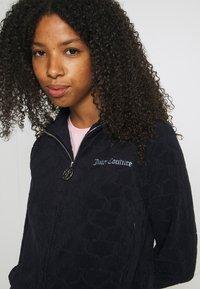Juicy Couture - TOWEL TANYA TRACK - Zip-up sweatshirt - night sky - 5