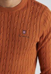 BONDELID - DAVE  - Neule - autumnal orange - 3