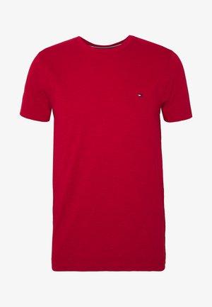 SLUB TEE - T-paita - red