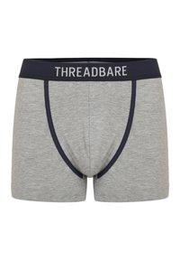 Threadbare - 3PACk - Onderbroeken - schwarz, grau, blau - 2