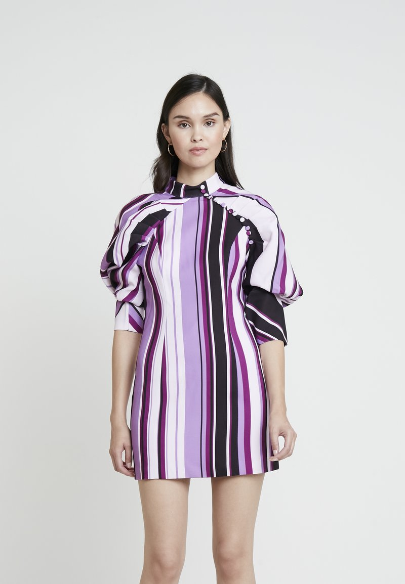 Mossman - THE NEW SENSATION MINI DRESS - Cocktailjurk - purple
