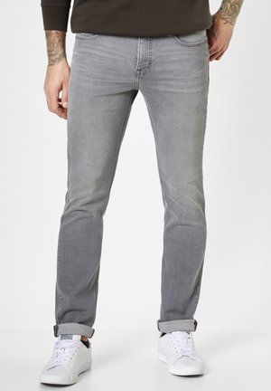 Straight leg jeans - grey moustache use