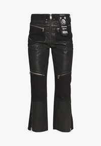 Diesel - DE-EARLIE TROUSERS - Trousers - black - 3