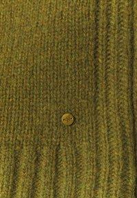 Marc O'Polo - LONGSLEEVE ROUND NECK - Jumper - olive green melange - 2