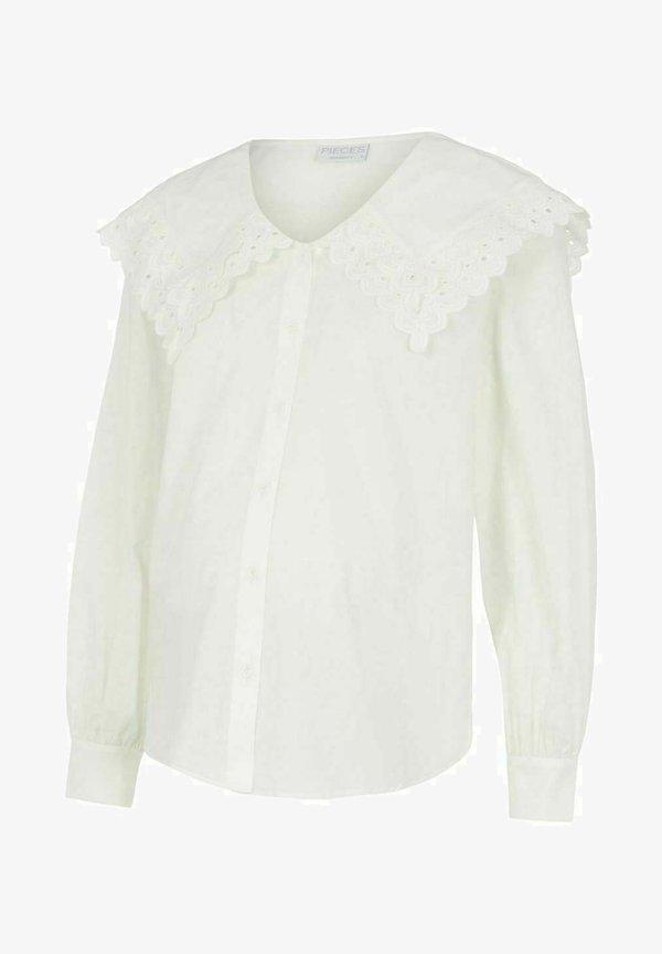 MAMALICIOUS PCMRITTA - Bluzka - bright white/mleczny HIGM