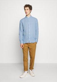 120% Lino - Shirt - blue colony - 1