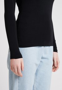Samsøe Samsøe - Long sleeved top - black - 5