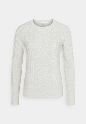CABLE CREW - Jumper - light heather grey