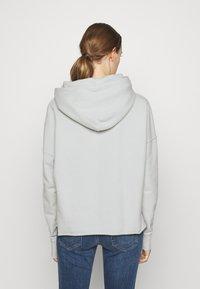 True Religion - BOXY CROPPED HOODY - Sweatshirt - dawn - 2