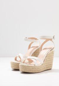 RAID - ELISHA - High heeled sandals - white - 2
