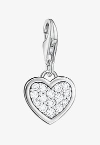 THOMAS SABO - HERZ - Pendant - silver-colored/white - 0