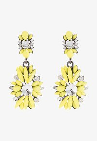 sweet deluxe - Earrings - silberfarben/gelb - 1