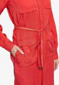 khujo - LEANNA - Shirt dress - red - 6