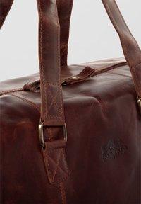 SID & VAIN - WEEKENDER - YALE - Weekend bag - braun-cognac - 3