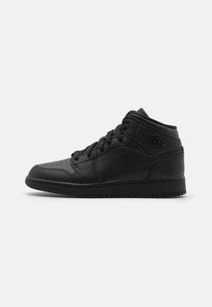 AIR 1 MID UNISEX - Basketbalové boty - black