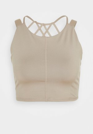 MANTRA CROP - Top - stone