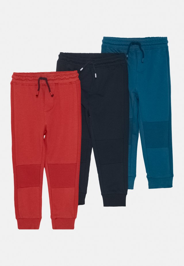 3 PACK  - Trousers - lyons blue
