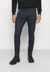 G-Star - RACKAM 3D SKINNY - Jeans Skinny Fit - worn in nightfall - 0