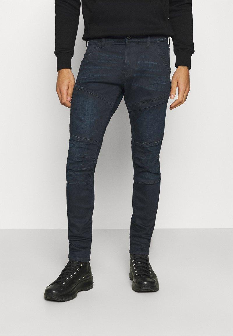 G-Star - RACKAM 3D SKINNY - Skinny džíny - worn in nightfall