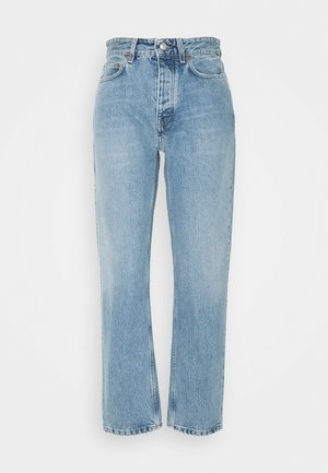 PEARL WASH  - Straight leg jeans - blue denim