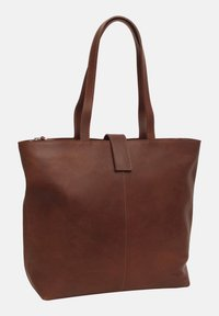 Gusti Leder - Tote bag - brown - 3