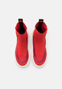 Marni - High-top trainers - red - 3