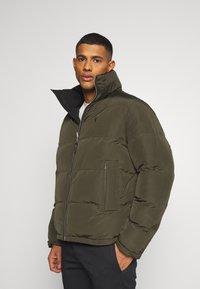 AllSaints - NOVERN JACKET - Down jacket - black - 3