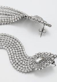 ONLY - ONLELLA EARRINGS - Náušnice - silver-coloured - 2