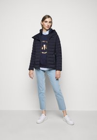 MICHAEL Michael Kors - STRETCH PACKABLE PUFFER - Dunjakke - dark navy - 1