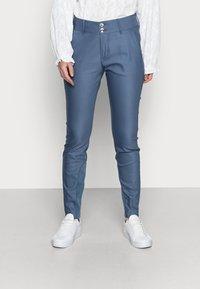 Mos Mosh - BLAKE NIGHT PANT SUSTAINABLE - Kalhoty - indigo blue - 0